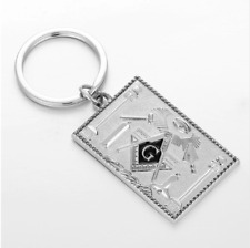 Masonic Keychain Freemasonry Square Compass Key Chain