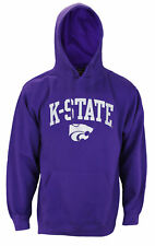 Genuine Stuff NCAA Men's Kansas State Wildcats Basic Team Pullover Hoodie