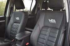 Toyota Hilux MK8 (2016-2019) Vea Bespoke Genuine Leather Interior, F&R Seats