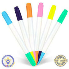 Yr Dual Sided Neon Pens For Light Up Led Board, Neon Markers Applicable For Art,