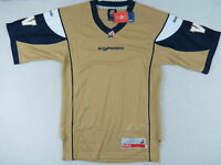 New! Reebok Winnipeg Blue Bombers CFL Football Player Fan Jersey Mens Small S
