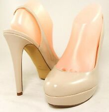 GUESS by Marciano RAPINE 3 Slingbacks Platform Pump Womens Shoes Heels 8.5 38.5