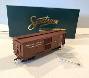 "BACHMANN SPECTRUM-DISMAL SWAMP VENTILATED BOX CAR-NARROW GAUGE ""ON30"" ITEM 27654"