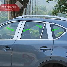 Stainless Steel Window Pillar Posts Trim For Mazda CX-5 2012 2013 2014 2015 2016