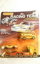 Matchbox Racing 3 Car Race Set Pepsi Challenger Superfast Chevy Van,Race Car Nib