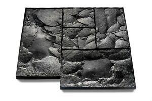 Small Ashlar Slate Concrete Imprint Mats - 59cm x 59cm