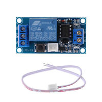 1PC 1 Channel 12V Latching Relay Module with Touch Bistable Switch MCU Control