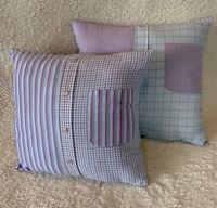 """Handmade Filled Memory Cushion/Keepsake/ Loved Ones-Missed Ones 16""""/18""""❤️💙💔"""