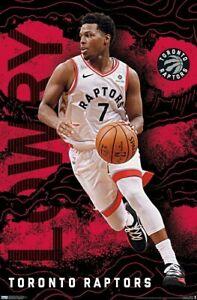 KYLE LOWRY - TORONTO RAPTORS POSTER - 22x34 - NBA BASKETBALL 18209