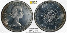 1964 Canada Confederation Silver Dollar PCGS MS66PL! Rare!