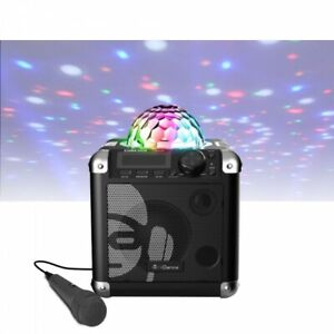 iDance Sing Cube BC100 Bluetooth Karaoke System Rechargeable RRP £79.99