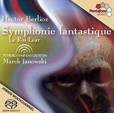 Marek Janowski, H. B - Symphony Fantastique / Le Roi Lear [New SACD] Hybrid