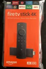 New Factory Sealed Amazon Fire TV Stick 4K with Alexa Remote HD (3rd Generation)