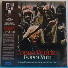 POPOL VUH COBRA VERDE O.S.T. FOR THE WENER VINILE LP RECORD STORE DAY 2017 NUOVO