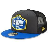 Los Angeles Rams New Era 2021 NFL Draft 9FIFTY Snapback Hat - Graphite