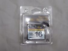 VAULTOR 16 GB 800X Professional Extreme Compact Flash CF Memory Card 120 MB/s NUOVA