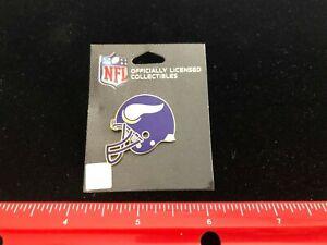 NEW Minnesota Vikings Helmet Logo Lapel Pin - NFL Licensed - Pin Back