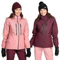 Trespass Womens Ski Jacket Waterproof Winter Padded Snow Hooded Coat