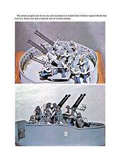 40 MM BOFOR Single, Twin & Quad Gun Article & 1/32 Scale Drawings