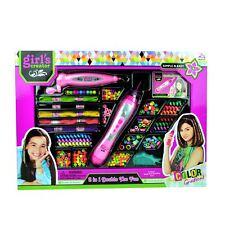 Beading machine Cheveux Filles Perles Bracelet Collier Maker Set Kids Fashion jouet