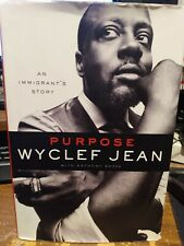 "Wyclef Jean Signed Book! ""Purpose"""