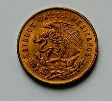 Mexico 1967 5 CENTAVOS La Corregidora Josefa Ortiz Coin with Red Lustre & Eagle