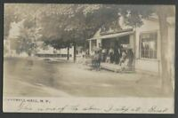 Campbell Hall Hamptonburgh NY: c.1906 RPPC Postcard THE GENERAL STORE Route 207