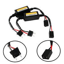 2pcs H7 Car LED Headlight Canbus Anti Flicker Resistor Canceller Decoder