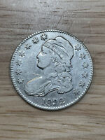 1832 Capped Bust Half Dollar 50c, Details, 5/10/21, Free Shipping