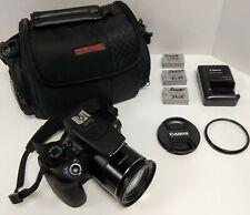 CANON POWERSHOT SX60 HS DIGITAL CAMERA 65x Optical Zoom Excellent Condition