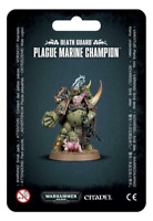 Plague Marine Champion Warhammer 40K Death Guard NEW IN BOX Chaos Space Marines