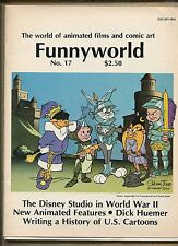 Funnyworld Animation/Comic Art Mag #17-Looney Tunes-1977 (Grade 7.5) WH