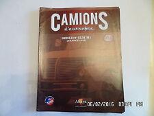 MAGAZINE CAMIONS D'AUTREFOIS N° 46 BERLIET GLM M1 1956    J40