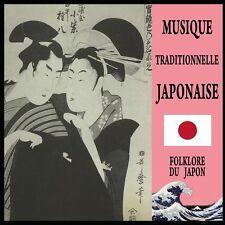 CD Musique Traditionnelle Japonaise : Folklore du Japon