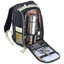 Picknickrucksack mit integrierter Kühltasche & Zubehör für 2 Personen