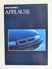 Daihatsu Applause - Prospekt Brochure 07.1993