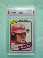 1980 Topps Pete Rose Phillies #540   ***PSA 8 NM-MT*** CENTERED & SHARP CORNERS
