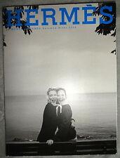 Hermes fashion catalog 2005 Peter Lindbergh Bianca Balti scarf handbag tie Men