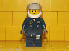 Lego City Police - Undercover Elite Police Helicopter Pilot Minifigure NEW