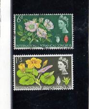Gran Bretaña Flores valores del año 1964 (BJ-518)