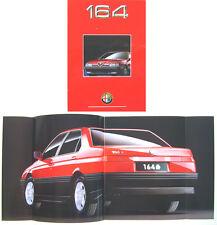 Alfa Romeo 164 1991-1993 Original UK Sales Brochure Pub. No. GB-9109-2067