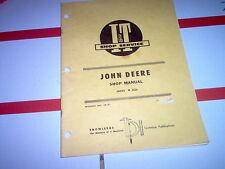 4520 Vintage John Deere Tractor I&T Shop Service Manual 4520