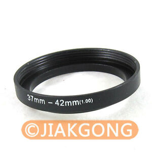 37mm-42mm 37-42 mm 37 to 42 Step Up Ring Filter Adapter