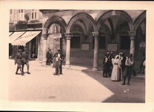 FOTO MILITARE REGIO ESERCITO DAVANTI A Palazzo Sponza Dubrovnik CROATIA  2-36