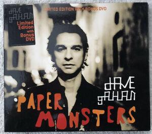 Dave Gahan - Paper Monsters - CD+DVD Album - LCDSTUMM216 - 2003- Depeche Mode