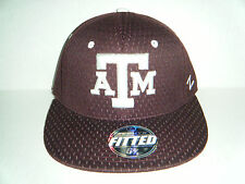 """Texas A & M """"GIG 'EM"""" Authentic Fitted Size 6 3/4 Hat NWT Cap Zephyr"""