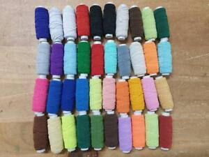 10 x Shirring Thread Elastic - 20m per reel - 200m total