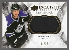 2015-16 Upper Deck Black Diamond Exquisite Material Rob Blake 03/15 SSP