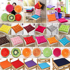 REMOVABLE Seat Chair Pads Indoor Outdoor Dining Garden Home Patio Office Cushion
