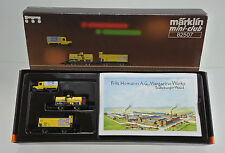 MARKLIN Z SCALE 82507 FRITZ HOMANN FREIGHT CAR SET